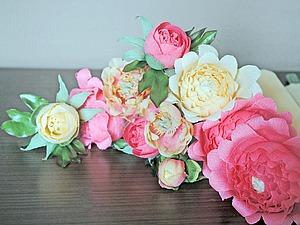 Создаем пионовидные цветы и бутоны для букета из конфет | Ярмарка Мастеров - ручная работа, handmade
