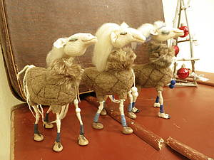 Клонируем лошадь Снежку))handmade