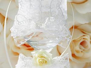 Бокалы на свадьбу | Ярмарка Мастеров - ручная работа, handmade