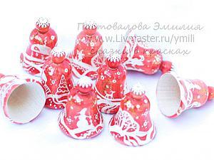 Мастер-класс: роспись рождественского колокольчика. Ярмарка Мастеров - ручная работа, handmade.