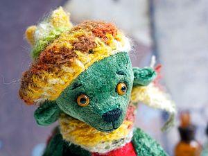 Аукцион с нуля!!! Осенний Мишка | Ярмарка Мастеров - ручная работа, handmade