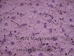 Оригинальное  применение тунисского вязания в наборном полотне   Ярмарка Мастеров - ручная работа, handmade