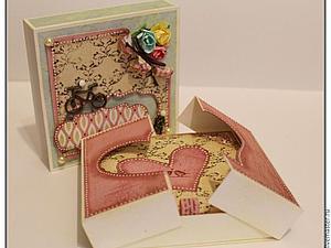 Делаем подарочную коробочку для денег | Ярмарка Мастеров - ручная работа, handmade
