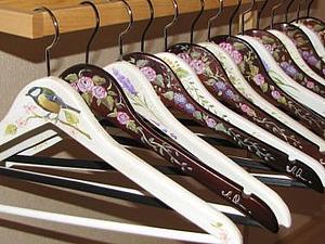 Роспись вешалки   Ярмарка Мастеров - ручная работа, handmade