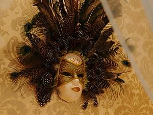 Изготовление венецианской маски с перьями.Техника папье-маше. | Ярмарка Мастеров - ручная работа, handmade