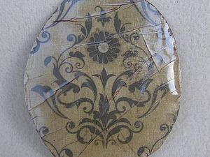 Создаем эффект разбитого стекла на картинке с помощью силикатного клея. Ярмарка Мастеров - ручная работа, handmade.