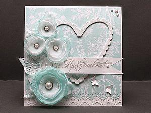 Мастер-класс свадебные открытки своими руками
