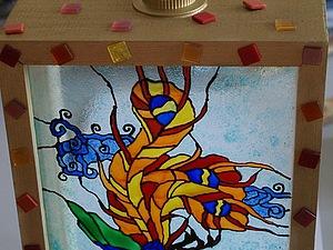 Мастер-класс по росписи стекла от Мандариновой_Барабульки   Ярмарка Мастеров - ручная работа, handmade