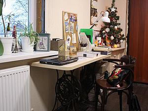 Как я обустроила уютное рабочее место в маленькой комнате. Ярмарка Мастеров - ручная работа, handmade.