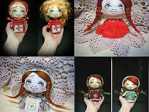 МК Текстильная куколка-малышка) | Ярмарка Мастеров - ручная работа, handmade