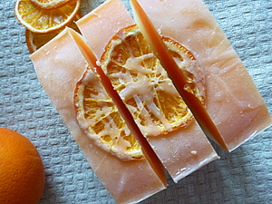 """Мыло """"с нуля"""" Оранжевое настроение. Ярмарка Мастеров - ручная работа, handmade."""