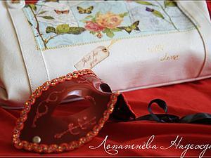 Декупаж на сумке или подарок для себя любимой. Ярмарка Мастеров - ручная работа, handmade.