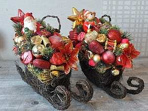 Букет из конфет или Новогодний топиарий | Ярмарка Мастеров - ручная работа, handmade