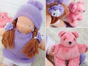 Как сделать выбор вальдорфской куколки ребенку | Ярмарка Мастеров - ручная работа, handmade