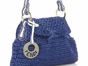 Вязаные дизайнерские сумки | Ярмарка Мастеров - ручная работа, handmade