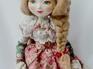 фото куклы из папье маше