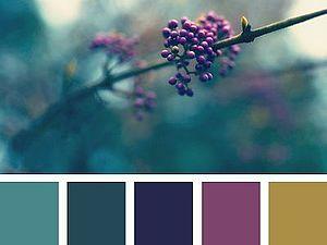 Вдохновляемся!!! Подбор цветовых схем. | Ярмарка Мастеров - ручная работа, handmade