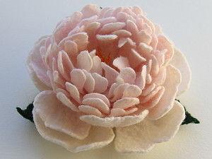 Приглашаю на МК по валянию цветка ПИОНА   Ярмарка Мастеров - ручная работа, handmade