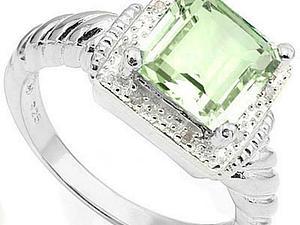 Аукцион на серебряные кольца с бриллиантами+ Развлекалка