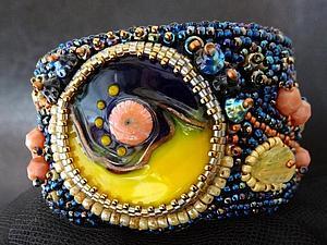 Новая коллекция украшений со стеклом лемпворк. | Ярмарка Мастеров - ручная работа, handmade