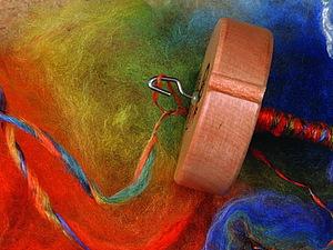 Курсы и мастер-классы по прядению на прялках и веретенах | Ярмарка Мастеров - ручная работа, handmade