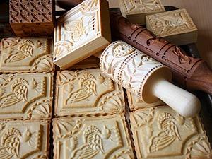 Рецепты теста для пряничных скалок, прессов и досок. | Ярмарка Мастеров - ручная работа, handmade
