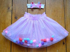 Шьем детскую юбочку с сюрпризом. Легко и сказочно красиво!. Ярмарка Мастеров - ручная работа, handmade.