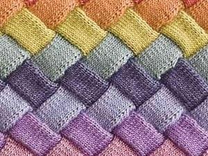 Вязание в технике Entrelac. Ярмарка Мастеров - ручная работа, handmade.