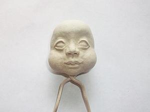 Мастер-класс по лепке кукольной головы. Ярмарка Мастеров - ручная работа, handmade.