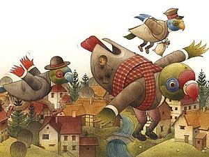 Удивительный мир Кестутиса Каспаравичуса | Ярмарка Мастеров - ручная работа, handmade