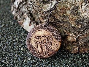 Делаем стильный мужской кулон с изображением змеи. Ярмарка Мастеров - ручная работа, handmade.