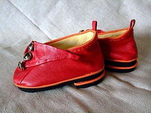 Мастерим обувь для куклы. Ярмарка Мастеров - ручная работа, handmade.