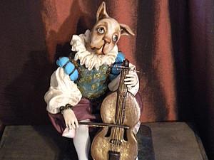 Виолончель для куклы | Ярмарка Мастеров - ручная работа, handmade