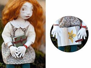 Мастерим маленькую книжечку для маленькой девочки. Ярмарка Мастеров - ручная работа, handmade.