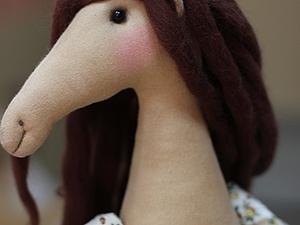 Интерьерная лошадка из текстиля. | Ярмарка Мастеров - ручная работа, handmade