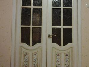 Мастер-класс: роспись двери. Ярмарка Мастеров - ручная работа, handmade.