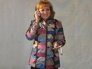 """Мастер-класс: Лоскутный жакет-куртка """"Изабелла"""". Часть 1. Креативная. Ярмарка Мастеров - ручная работа, handmade."""