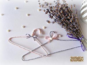 Делаем вешалку (плечики) для кукольной одежды в стиле шебби шик | Ярмарка Мастеров - ручная работа, handmade