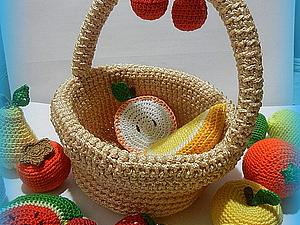 Мастер-класс: вязаная крючком корзинка. Ярмарка Мастеров - ручная работа, handmade.
