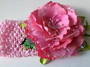 Делаем цветок в мягкой технике с окрашиванием лепестков. Ярмарка Мастеров - ручная работа, handmade.