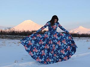 Прекрасное платье от HotPiterStyle   Ярмарка Мастеров - ручная работа, handmade