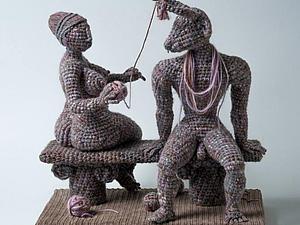 Вязаные женщины Юлии Устиновой   Ярмарка Мастеров - ручная работа, handmade