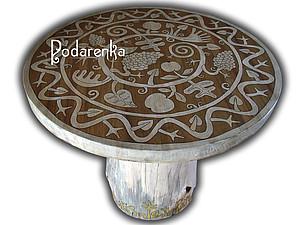 Круглый стол своими руками | Ярмарка Мастеров - ручная работа, handmade