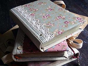 Мастер-класс по изготовлению блокнота в текстильной обложке | Ярмарка Мастеров - ручная работа, handmade