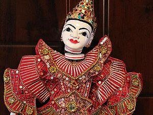 Куклы-марионетки | Ярмарка Мастеров - ручная работа, handmade