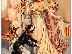 Подвенечное платье 19 века, или В чем выходили замуж наши прабабушки | Ярмарка Мастеров - ручная работа, handmade