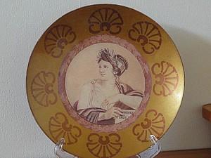 Декупаж тарелки в античном стиле. Ярмарка Мастеров - ручная работа, handmade.