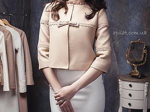 Из коллекции свадебный пальто APILAT 14 | Ярмарка Мастеров - ручная работа, handmade