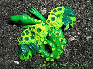 Мастер-класс по лепке: лесной дракон из полимерной глины. Ярмарка Мастеров - ручная работа, handmade.