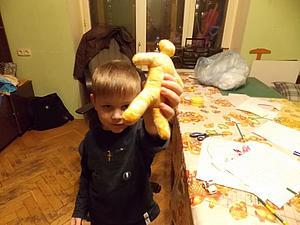 Рождение первой авторской куклы Миши Карамнова   Ярмарка Мастеров - ручная работа, handmade